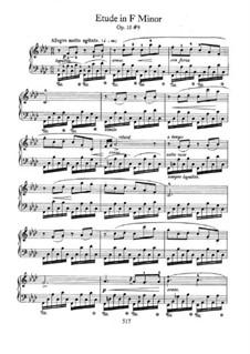 No.9 фа минор: Для фортепиано by Фредерик Шопен