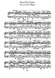 Три этюда для Мошелеса, B.130 KK IIb/3: No.2 in A Flat Major by Фредерик Шопен