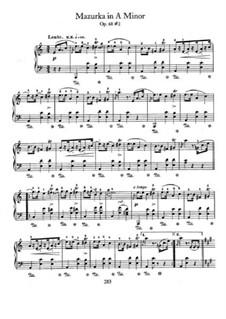 Мазурки, Op. posth.68: No.2 in A Minor by Фредерик Шопен