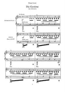 Транскрипции на темы песен Шуберта, S.562: No.3 The Stars by Франц Лист