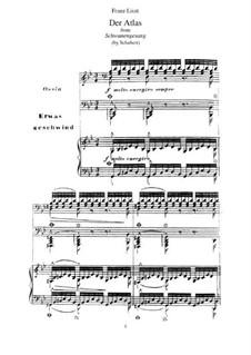 No.8 Атлас: Для фортепиано, S.560 No.11 by Франц Шуберт