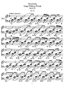 Песни без слов, Op.85: Сборник by Феликс Мендельсон-Бартольди