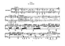 Осенью, Op.11: Для фортепиано в 4 руки by Эдвард Григ