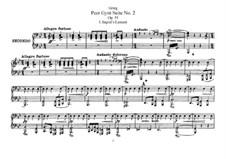 Сюита No.2, Op.55: Для фортепиано в 4 руки by Эдвард Григ