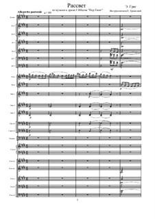 Избранные темы, Op.23: Рассвет by Эдвард Григ