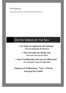 3 Dutch Songs of the Sea: 3 Dutch Songs of the Sea by folklore, Abraham Jacobus Schooleman, Joannes Josephus Viotta