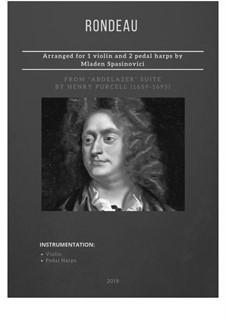 Абделазар, или Месть мавра: Rondo, for two violins and harp by Генри Пёрсел