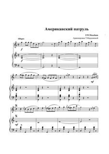 Американский патруль, Op.92: Для дуэта аккордеонов by Франк У. Мичхэм