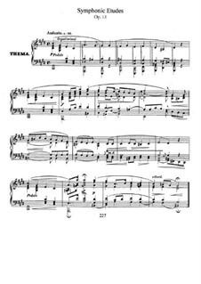 Симфонические этюды, Op.13: Сборник by Роберт Шуман