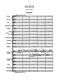 Вся опера: Партитура by Джузеппе Верди