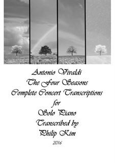 Времена года: For solo piano by Антонио Вивальди