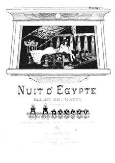 Египетские ночи, Op.50: Клавир by Антон Аренский