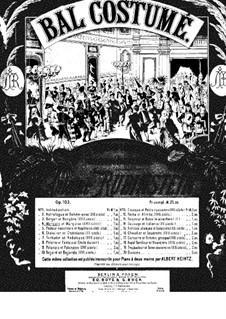 Костюмированный бал, Op.103: No.4 Маркиз и Маркиза by Антон Рубинштейн