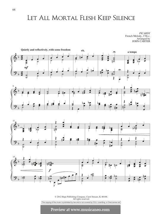 Let All Mortal Flesh Keep Silence: Для фортепиано by folklore
