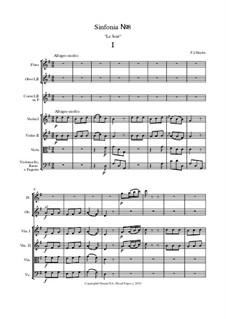 Симфония No.8 Соль мажор: Часть 1 (партитура) by Йозеф Гайдн
