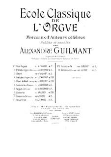 Концерт для органа ре минор, BWV 596: Для одного исполнителя by Иоганн Себастьян Бах