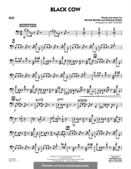 Black Cow (Steely Dan): Партия баса by Donald Fagen, Walter Becker