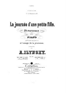 La journée d'une petite fille, Op.19: No.7-12 by Александр Ильинский