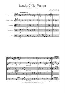 Дайте мне слезы: Для квинтета медных духовых by Георг Фридрих Гендель