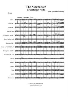 No.5 Сцена и танец Гросфатер: For full orchestra by Петр Чайковский