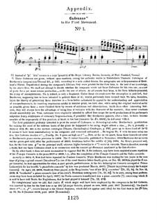 Концерт для фортепиано с оркестром No.1, Op.15: Каденции к первой части by Людвиг ван Бетховен