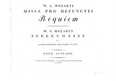 Все части: Партитура by Вольфганг Амадей Моцарт