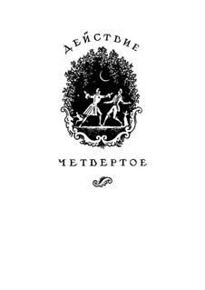 Вся опера: Акт IV, для солистов, хора и фортепиано by Вольфганг Амадей Моцарт