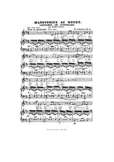 Гретхен за прялкой, D.118 Op.2: Си минор by Франц Шуберт