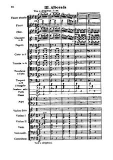 Испанское каприччио, Op.34: Части III-IV by Николай Римский-Корсаков