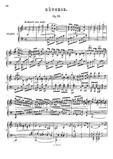 Шесть пьес, Op.51: No.3 Reverie by Антон Рубинштейн