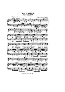 Форель, D.550 Op.32: Немецкий и французский тексты by Франц Шуберт