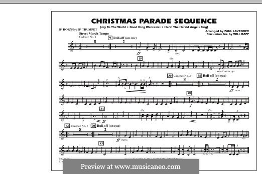 Christmas Parade Sequence: Bb Horn/3rd Bb Tpt part by folklore