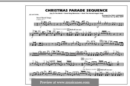 Christmas Parade Sequence: Quad Toms part by folklore