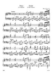 Двенадцать этюдов, Op.8: Этюд No.12 by Александр Скрябин