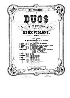 Шесть дуэтов для двух скрипок, Op.2: Скрипка II by Пьер Роде
