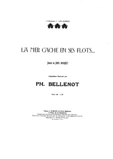 La mer cache en ses flots: La mer cache en ses flots by Philippe Bellenot