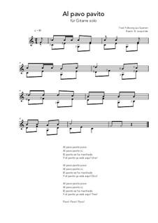 Al pavo pavito: Al pavo pavito by folklore