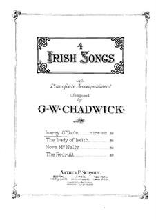 Four Irish Songs: Larry O'Toole by Джордж Уайтфилд Чедуик