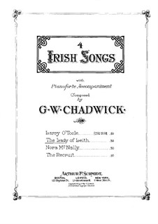 Four Irish Songs: The Lady of Leith by Джордж Уайтфилд Чедуик