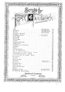 The Miller's Daughter: The Miller's Daughter by Джордж Уайтфилд Чедуик