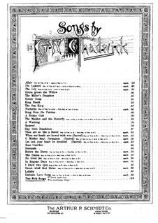 Две народные песни: Две народные песни by Джордж Уайтфилд Чедуик
