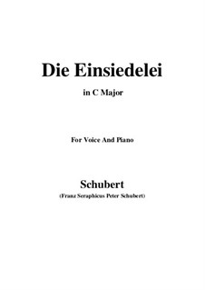 Die Einsiedelei (The Hermitage), D.393: До мажор by Франц Шуберт