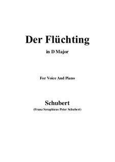Der Flüchtling (The Fugitive), D.402: D Major by Франц Шуберт