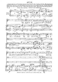 Геновева, Op.81: Акт IV by Роберт Шуман