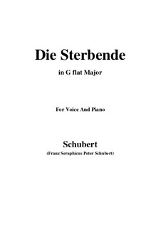 Die Sterbende (The Dying Girl), D.186: G flat Major by Франц Шуберт