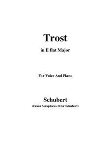 Trost (Consolation), D.671: E flat Major by Франц Шуберт