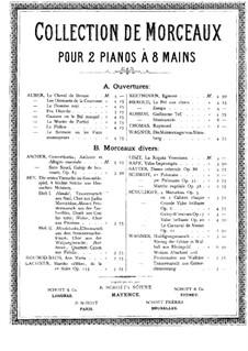 Эгмонт, Op.84: Увертюра, для двух фортепиано в восемь рук – партия первого фортепиано by Людвиг ван Бетховен