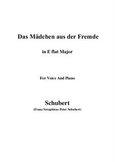 Das Mädchen aus der Fremde (The Maiden from a Strange Land), D.252: E flat Major by Франц Шуберт