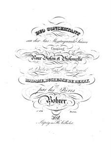 Концертный дуэт для скрипки и виолончели: Партии by Антуан Борер