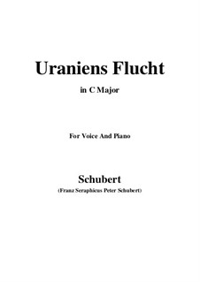 Uraniens Flucht (Urania's Flight), D.554: До мажор by Франц Шуберт